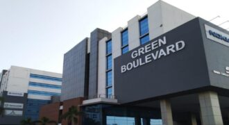 Furnished Office Space in Green Boulevard Tower A