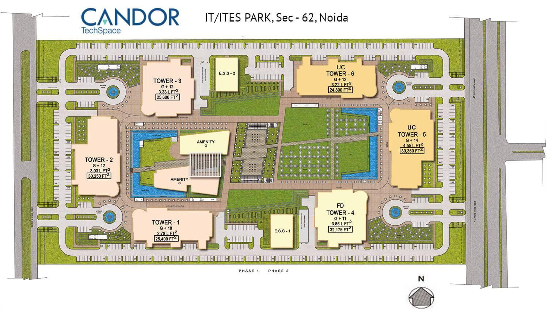 Candor TechSpace,Sector 62, Noida